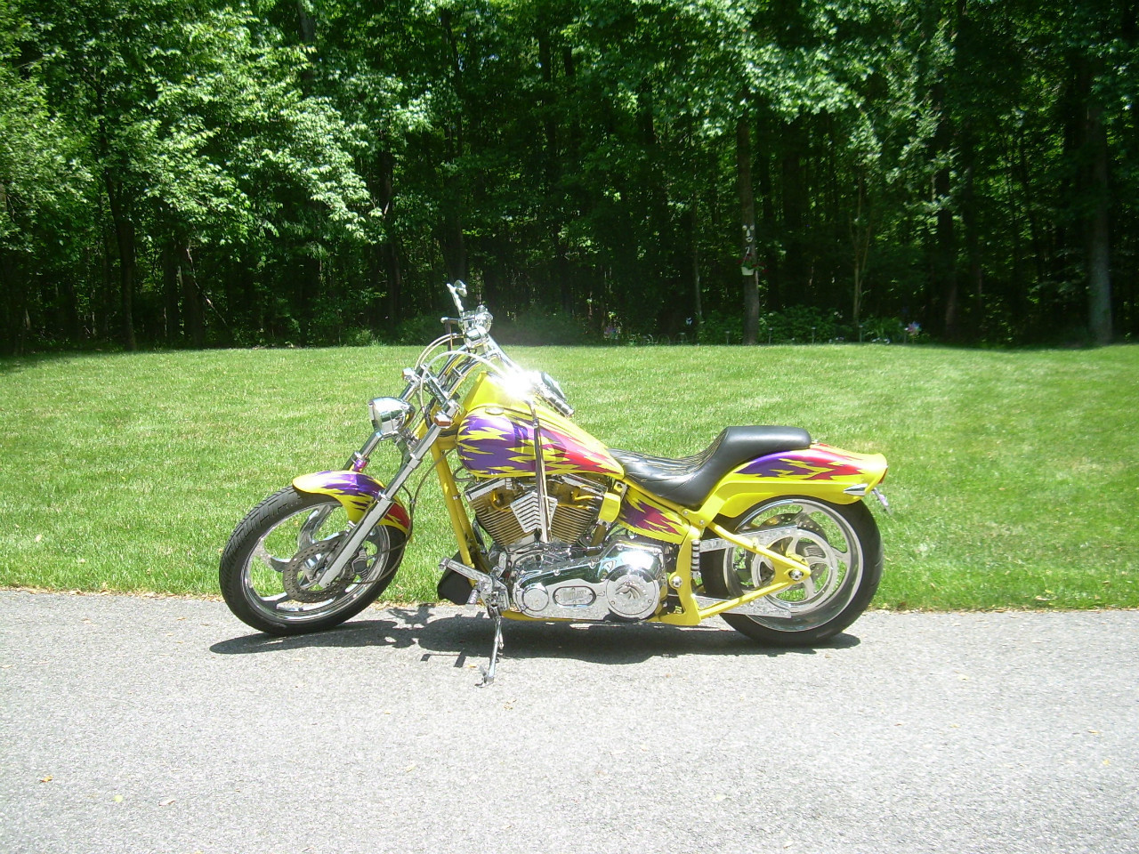 See more photos for this American Ironhorse Outlaw , 2000 motorcycle listing