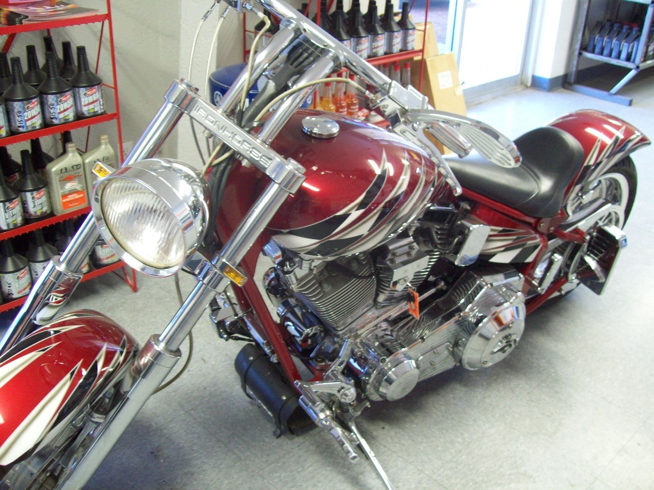 See more photos for this American Ironhorse Slammer , 2001 motorcycle listing