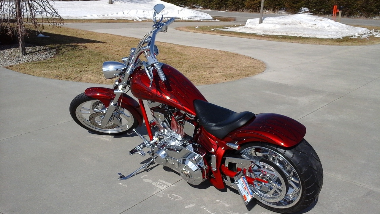 See more photos for this American Ironhorse Slammer , 2002 motorcycle listing