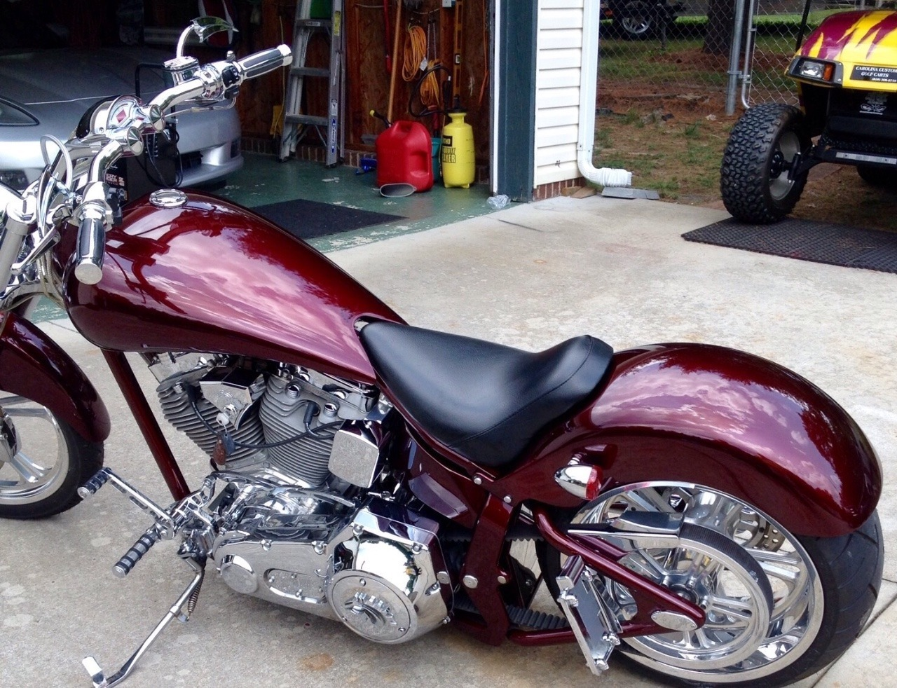 See more photos for this American Ironhorse Outlaw , 2004 motorcycle listing