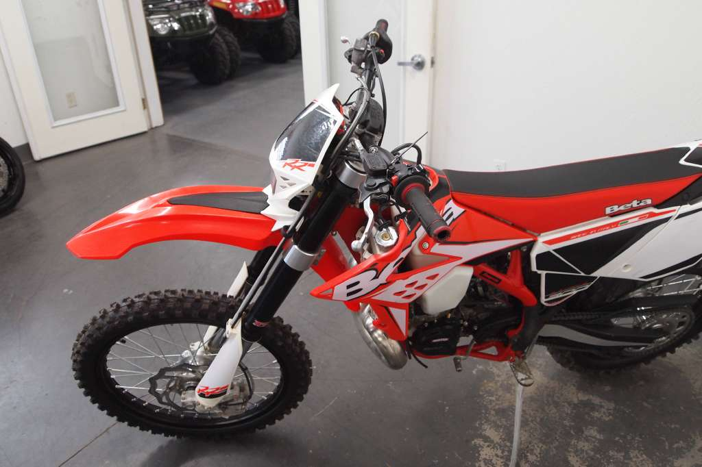 2014 Beta 300 RR 2-Stroke Dirt Bike Motorcycle From Accident