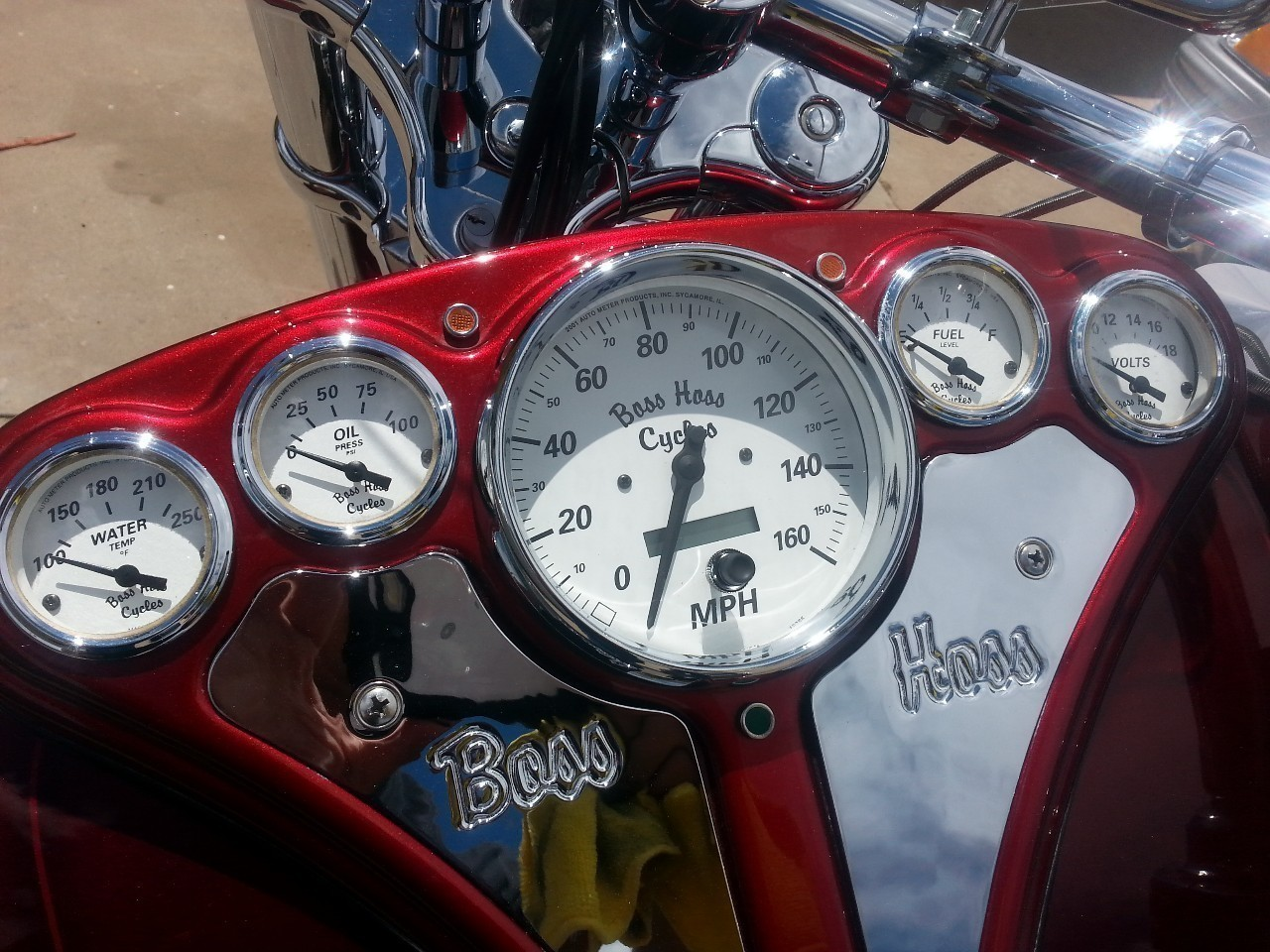 See more photos for this Boss Hoss 350 CI ZZ4, 2002 motorcycle listing