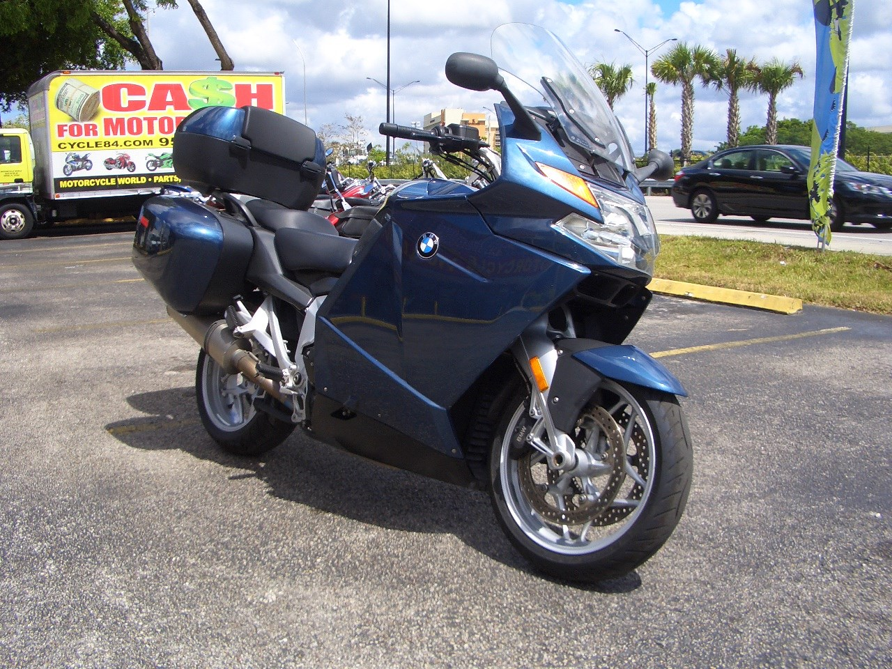 2007 bmw k 1200 lt touring motorcycle from fort lauderdale fl today. Cars Review. Best American Auto & Cars Review