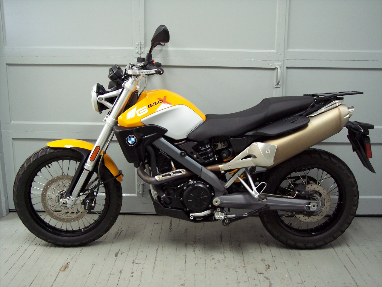 2009 Bmw G650 X Country Dual Sport Motorcycle From