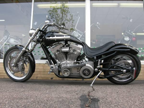 See more photos for this Bourgets Bike Works Low Blow Softail, 2002 motorcycle listing