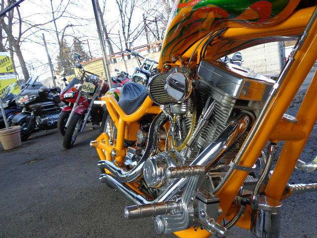 See more photos for this Bourgets Bike Works Custom Low-Blow Chopper, 2003 motorcycle listing