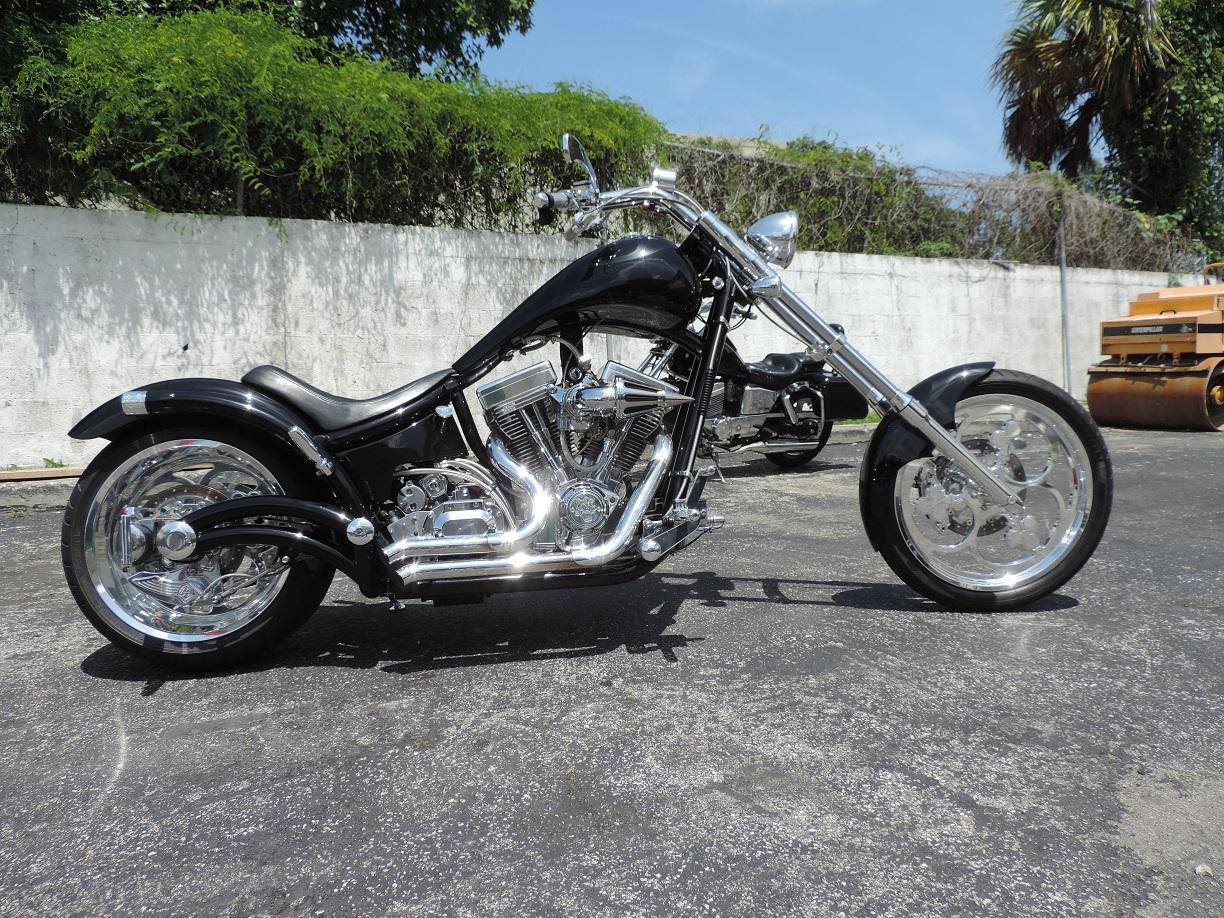 See more photos for this Bourget Black Jack Ace Softail Chopper, 2004 motorcycle listing