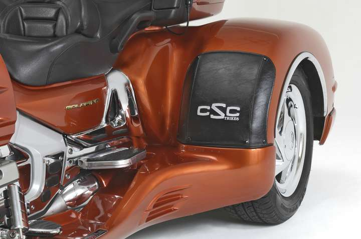 See more photos for this California Side Car California Sidecar (CSC) Cobra Trike Kit for Honda Gold, 2014 motorcycle listing