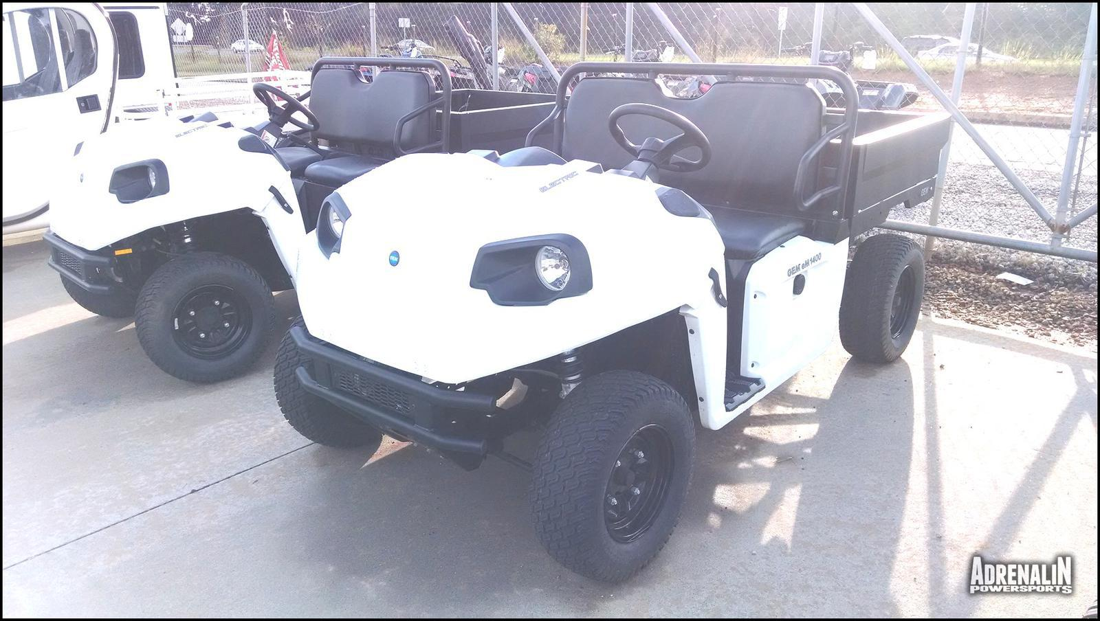 See more photos for this Global Electric Motorcars eM1400 - White with Removable Box S, 2014 motorcycle listing