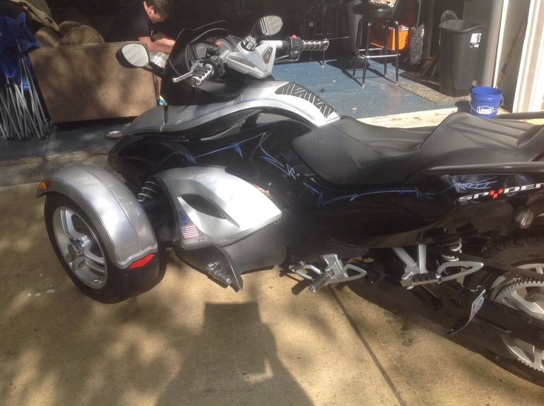 See more photos for this Can-Am Spyder GS SM5, 2008 motorcycle listing