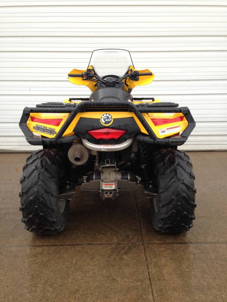 See more photos for this Can-Am Outlander 800R EFI XT w/EPS, 2010 motorcycle listing