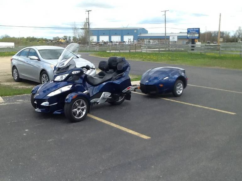 See more photos for this Can-Am Spyder RT Audio & Convenience SE5, 2010 motorcycle listing