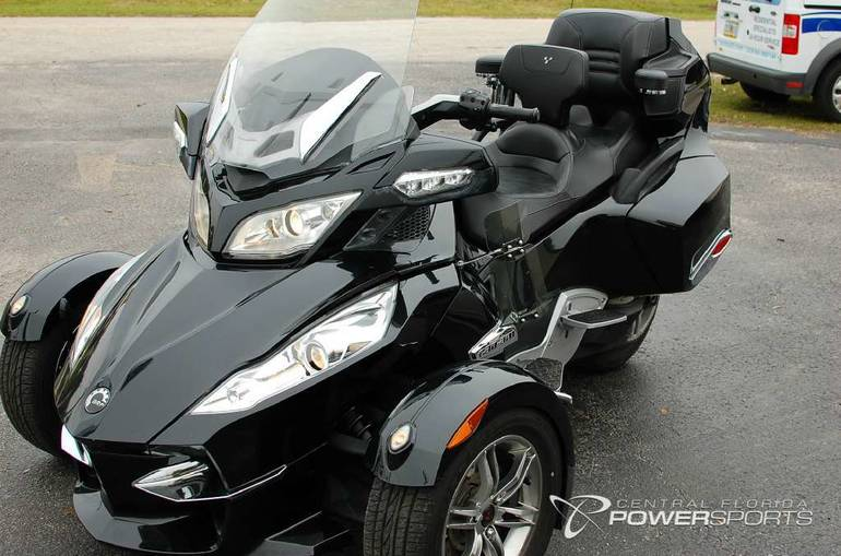 2010 Can Am Spyder Rt S Se5 Touring Motorcycle From