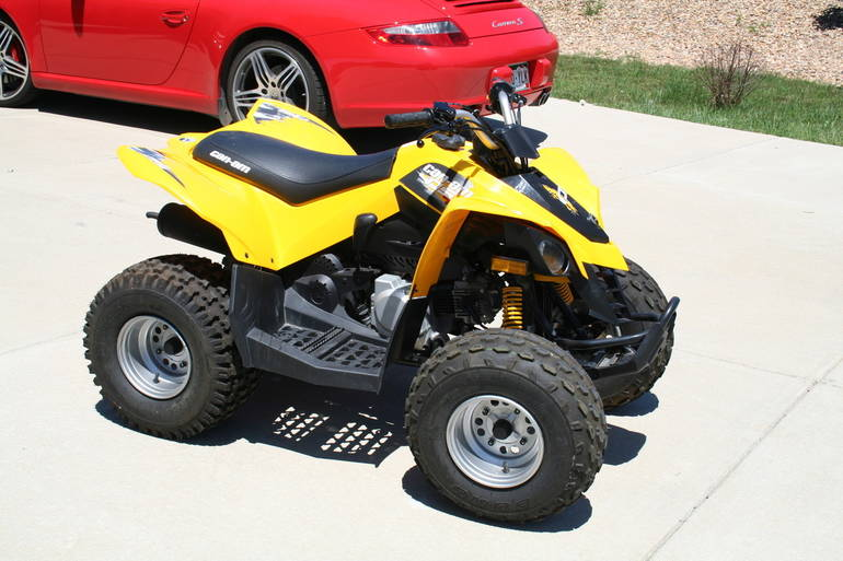 See more photos for this Can-Am Ds 70, 2011 motorcycle listing