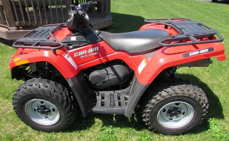 See more photos for this Can-Am Outlander 400 EFI, 2011 motorcycle listing