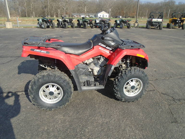 See more photos for this Can-Am Outlander 500, 2011 motorcycle listing
