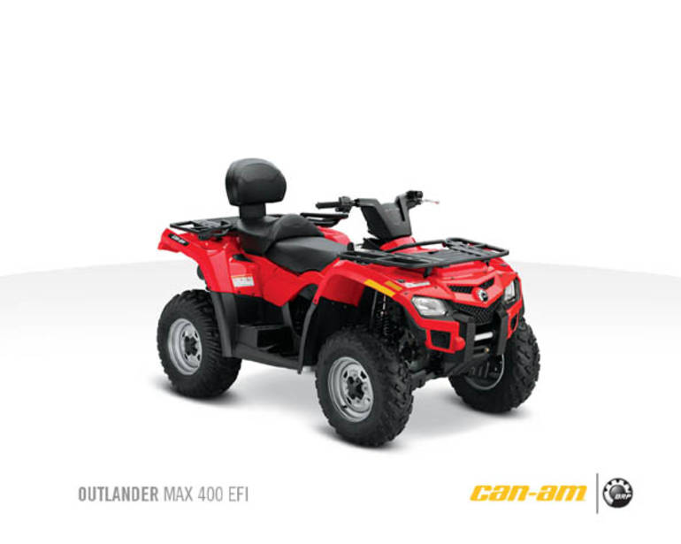 See more photos for this Can-Am Outlander Max 400, 2011 motorcycle listing