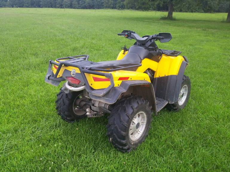 See more photos for this Can-Am Outlander XT 800R EFI, 2011 motorcycle listing