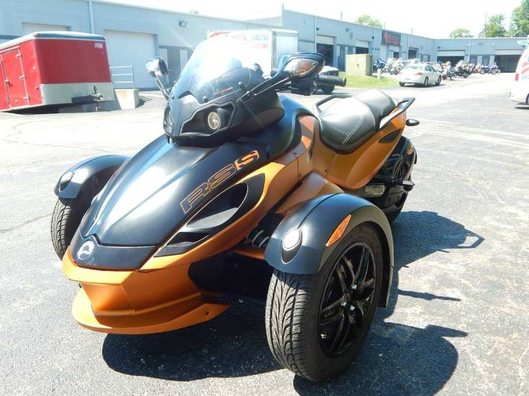 2011 can am spyder rs s se5 sport touring motorcycle from. Black Bedroom Furniture Sets. Home Design Ideas