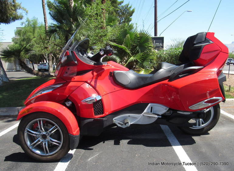 2011 can am spyder roadster rt s motorcycle from tucson az today sale 16 880. Black Bedroom Furniture Sets. Home Design Ideas