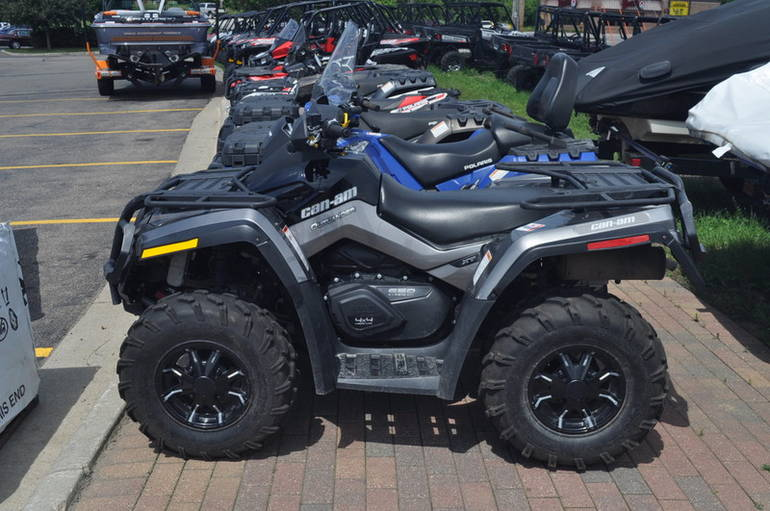 See more photos for this Brp OUTLANDER XT 650, 2012 motorcycle listing