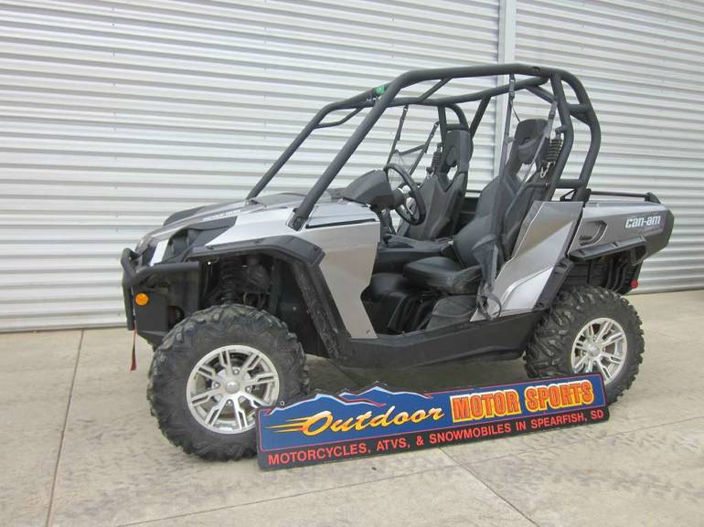 See more photos for this Can-Am Commander XT 800, 2012 motorcycle listing