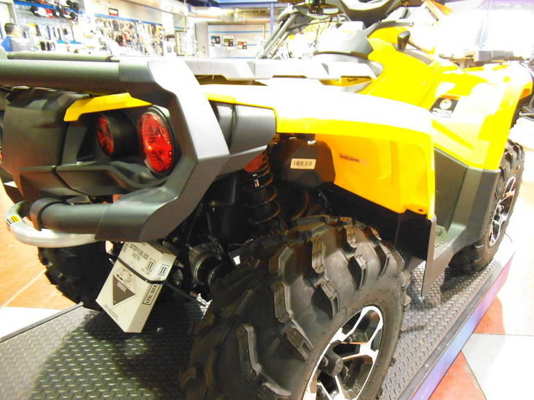 2012 Can-Am Outlander XT 1000 Recreation/Utility ...