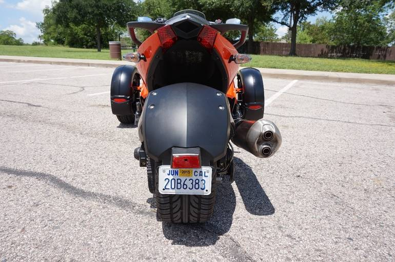 See more photos for this Can-Am SPYDER RS-S SE5, 2012 motorcycle listing