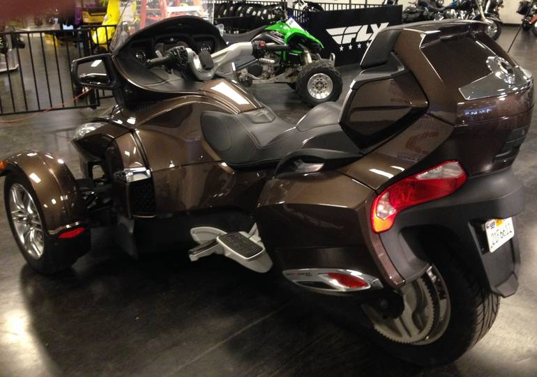 See more photos for this Can-Am Spyder® RT Limited SE5, 2012 motorcycle listing