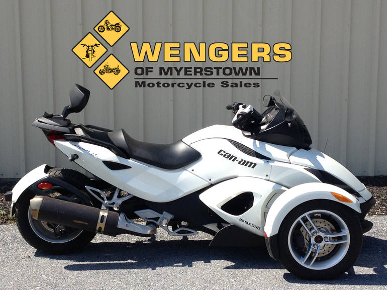 See more photos for this Can Am Spyder RS SE5, 2012 motorcycle listing