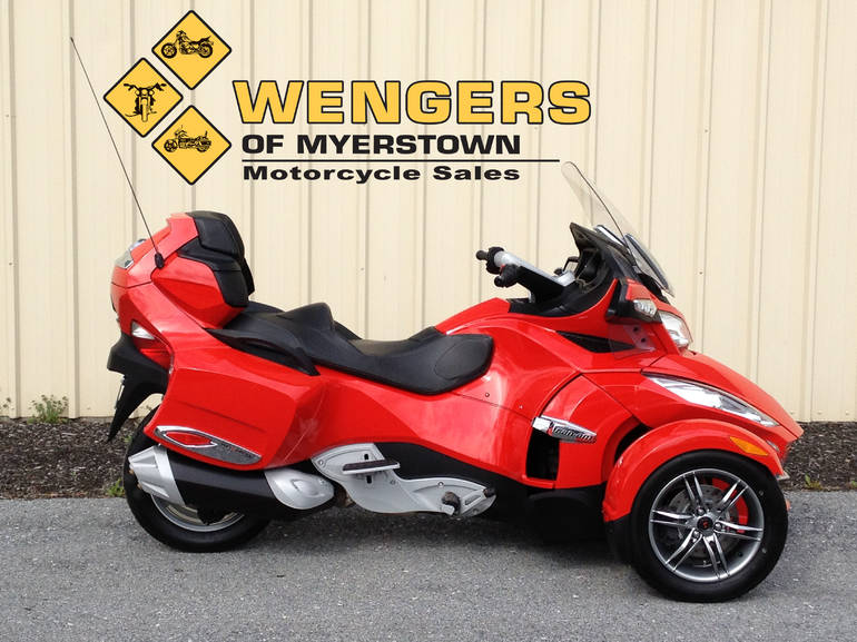 See more photos for this Can Am Spyder RTS SE5, 2012 motorcycle listing