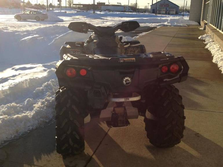 See more photos for this Can-Am Outlander 800R XT, 2013 motorcycle listing