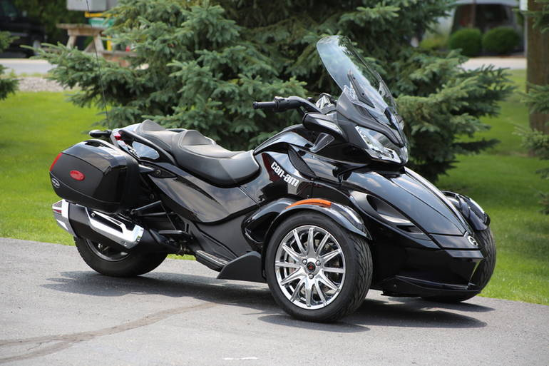 2013 can am spyder st limited se5 trike motorcycle from. Black Bedroom Furniture Sets. Home Design Ideas