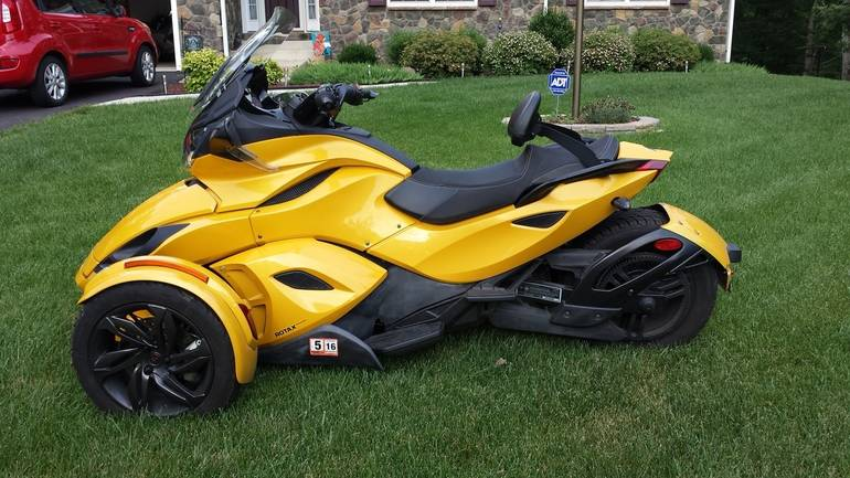 See more photos for this Can-Am Spyder St SE5, 2013 motorcycle listing