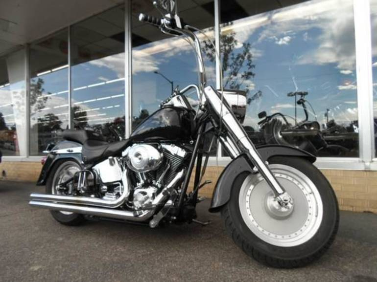 See more photos for this Custom Custom, Fatboy, Softail, 2001 motorcycle listing