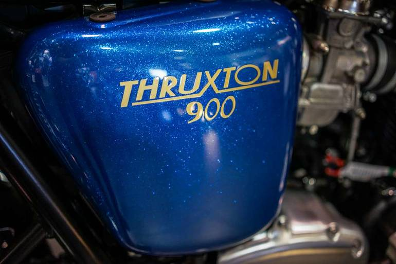 See more photos for this Custom TRIUMPH THRUXTON, 2014 motorcycle listing
