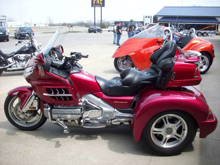 2003 Champion Trikes Honda Goldwing GL 1800 Trike Kit ...