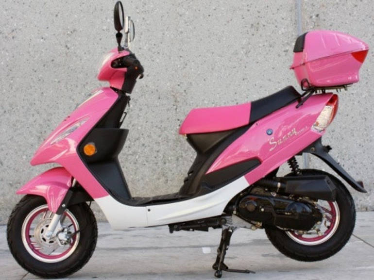 See more photos for this Sunny 50cc Pink Panther Maui Moped ON SALE by SaferWholesale, 2014 motorcycle listing