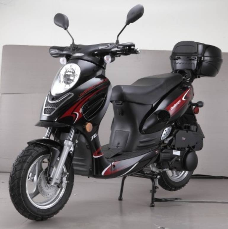 2015 Cgr Brand New 50cc Challenger Sport Moped Scooter