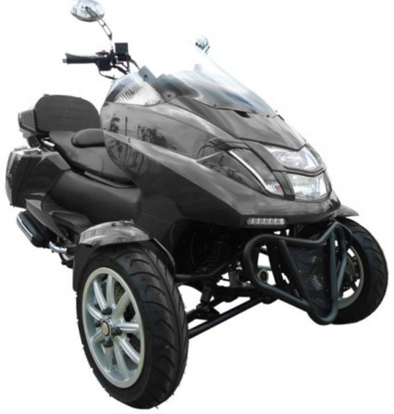 See more photos for this Sunny MC_D300TKB 4 Stroke 300cc Trike Scooter Moped, 2015 motorcycle listing