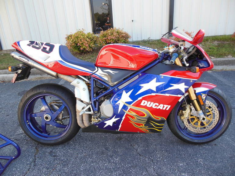 See more photos for this Ducati 998S Ben Bostrom Replica 002, 2002 motorcycle listing