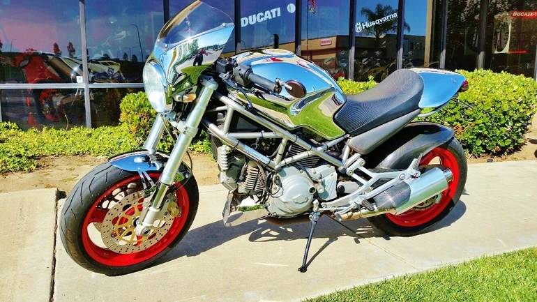See more photos for this Ducati Monster 750 Chromo, 2002 motorcycle listing