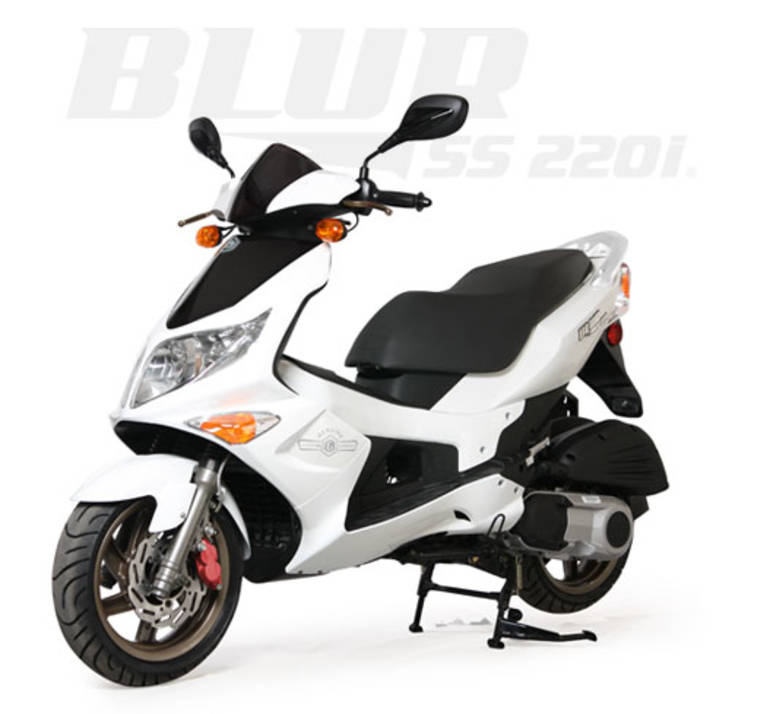 See more photos for this Genuine Scooter Company BLUR 220i, 2013 motorcycle listing