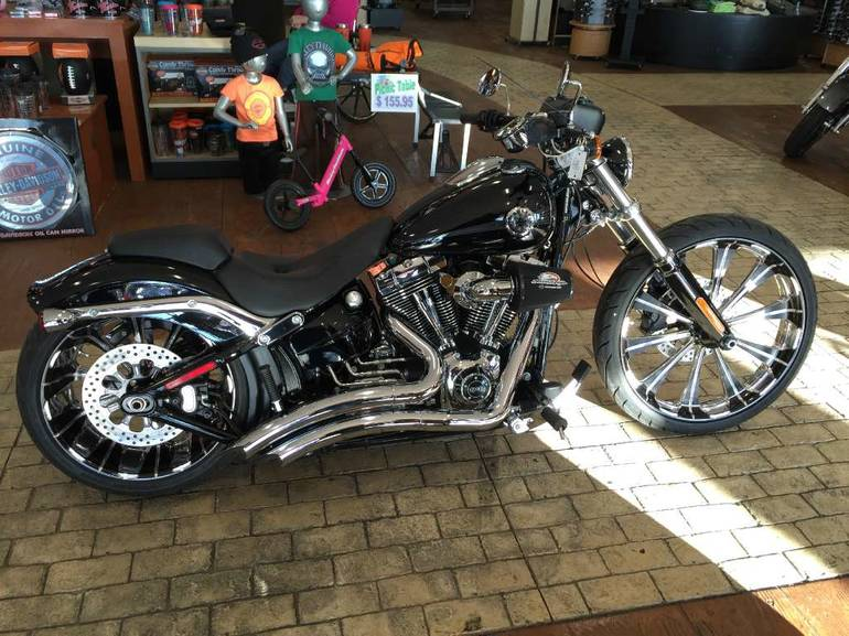 Used Harley Davidson Wheels >> 2014 Harley Davidson Breakout Motorcycle From Marion Il