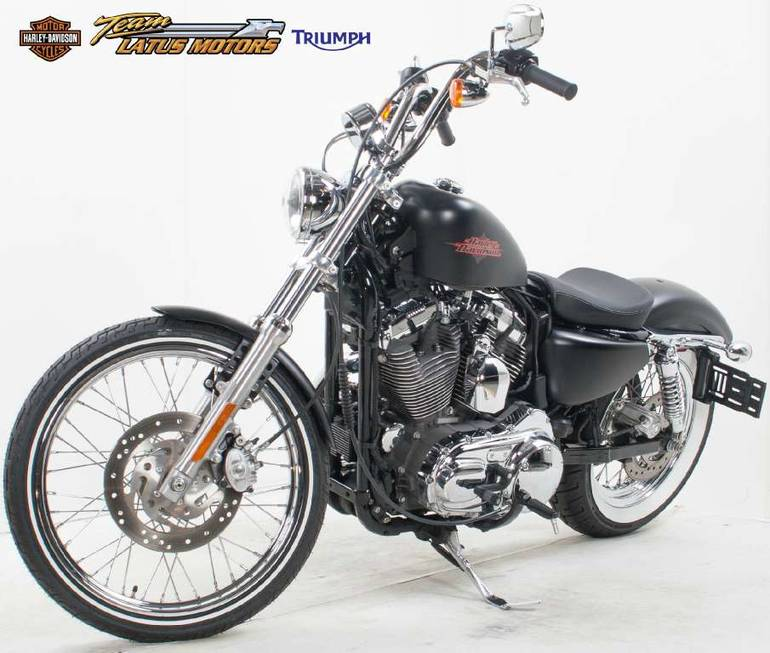 2012 Harley-Davidson Sportster Seventy-Two Motorcycle From