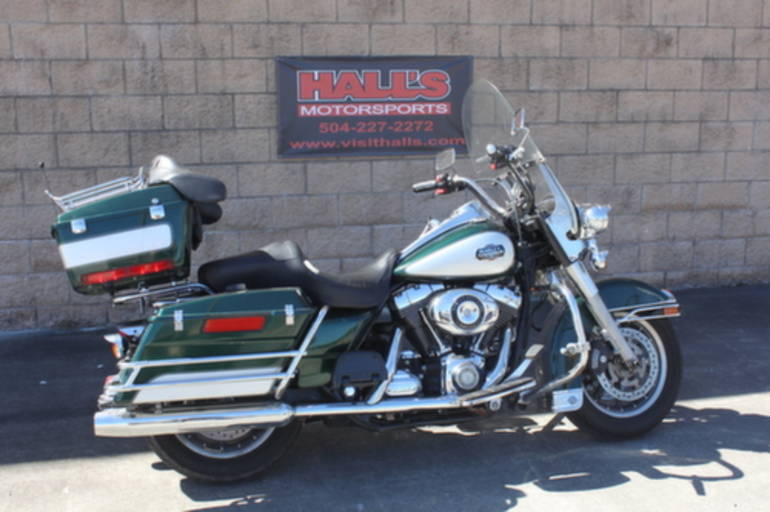 2008 Harley FLHP - ROAD KING POLICE Motorcycle From Mobile