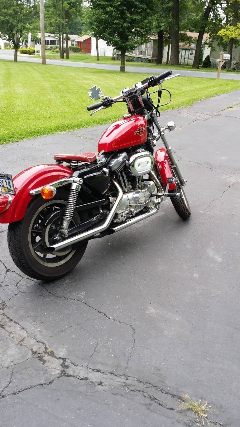 See more photos for this Harley-Davidson Sportster 1200 , 1995 motorcycle listing