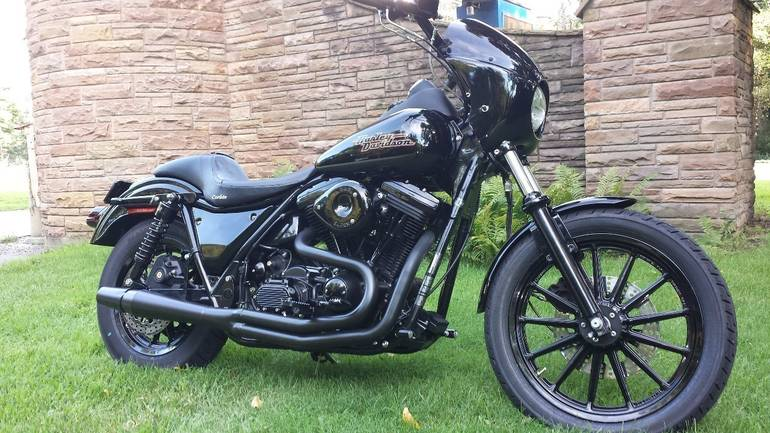 1994 Harley Davidson Fxr Motorcycle From Joliet Il Today