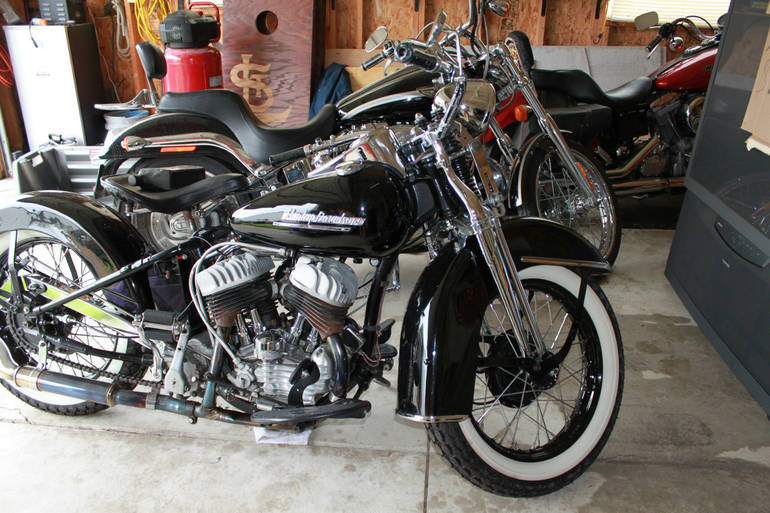 See more photos for this Harley-Davidson Custom PANHEAD, 1951 motorcycle listing