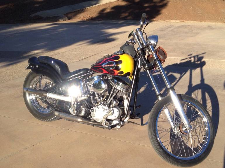 See more photos for this Harley-Davidson Custom PANHEAD, 1957 motorcycle listing